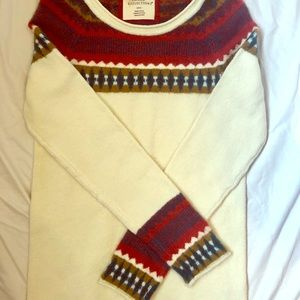 Natural Reflections W's sweater size S. NWOT